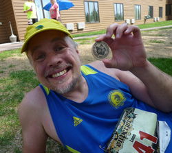 Happy To Have My Superior Trail 50K Finishers Medallion